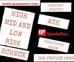 High Risk Merchant Account - Quadra Services
