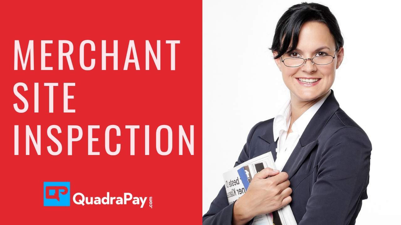 merchant site inspection By Quadrapay