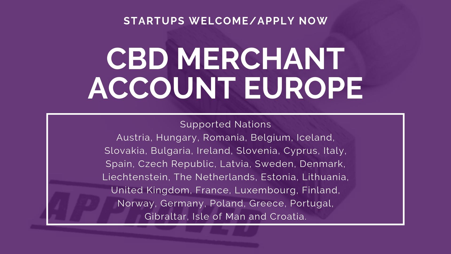 CBD Merchant Account Europe