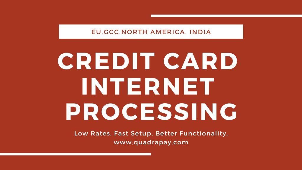 CREDIT CARD INTERNET PROCESSING
