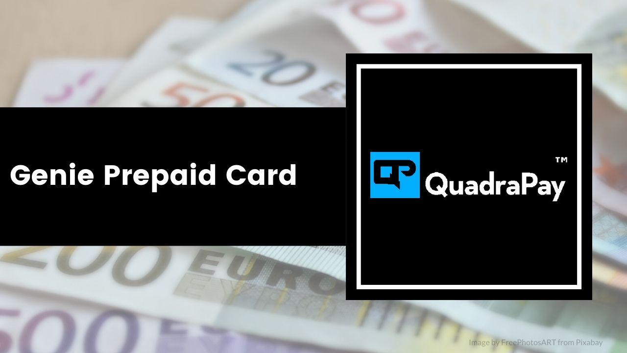 Genie Prepaid Card