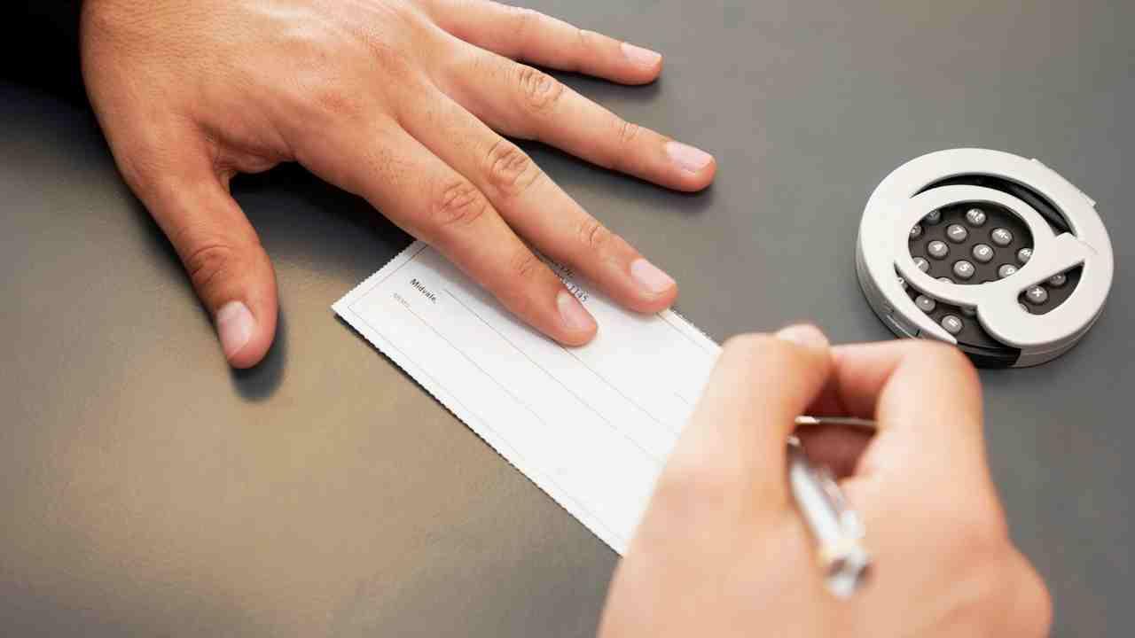 Electronic Check Payment Quadrapay
